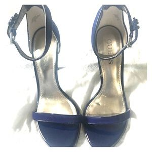 Guess Ankle Strap High Heels